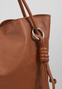 Zign - LEATHER - Handbag - cognac - 7