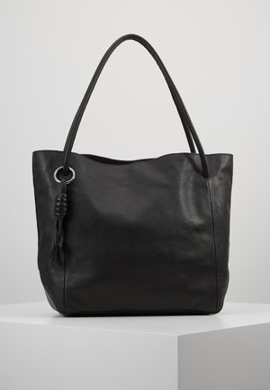 LEATHER - Borsa a mano - black