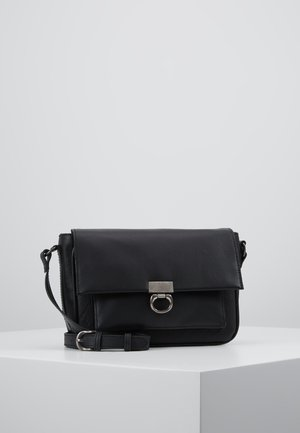LEATHER - Olkalaukku - black