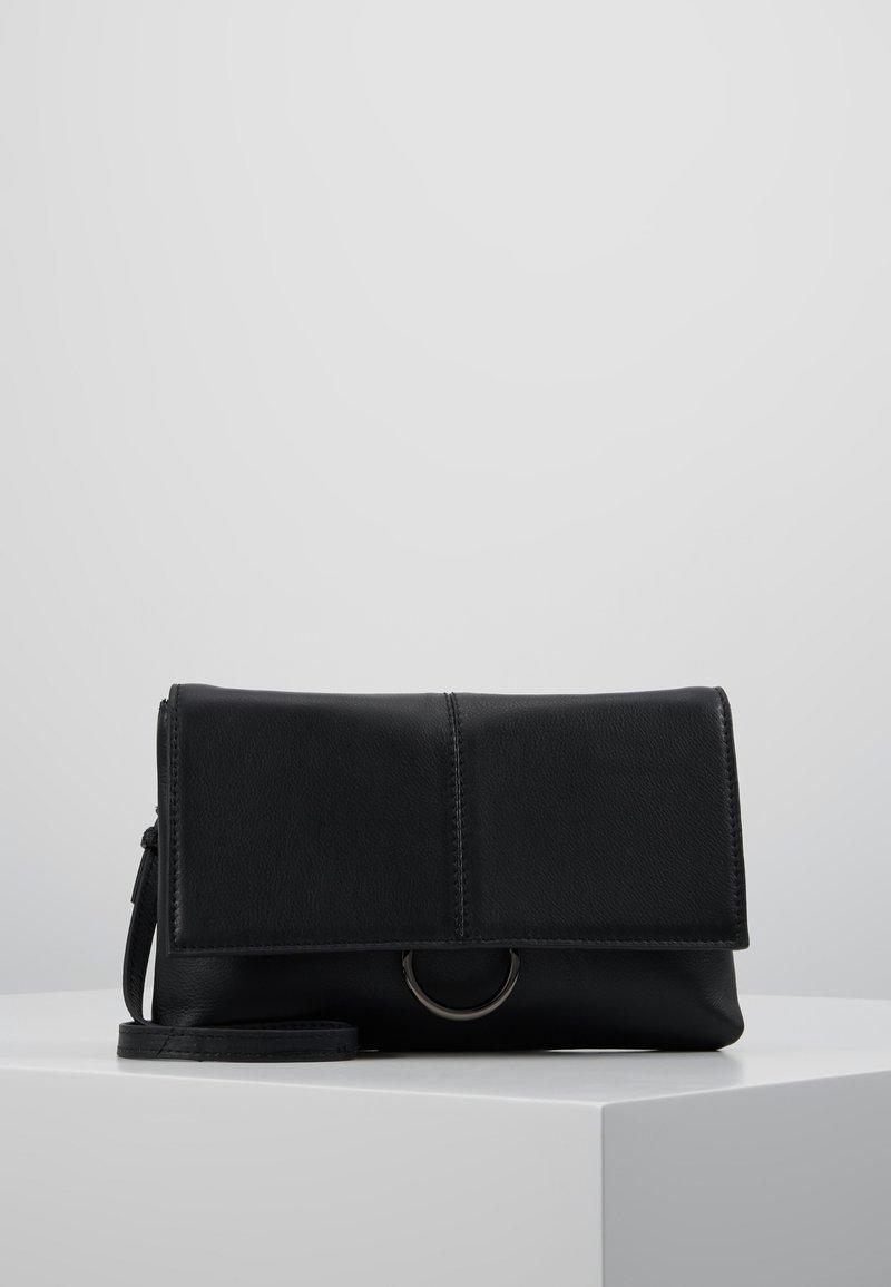 Zign - LEATHER - Torba na ramię - black