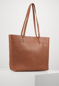 Zign - LEATHER - SHOPPING BAG / POUCH SET - Shopping bag - cognac - 2