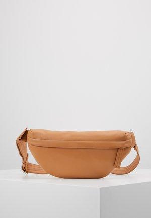 LEATHER - Bum bag - natural