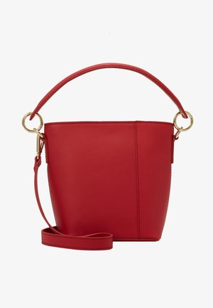 LEATHER - Borsa a mano - berry