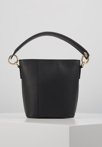 Zign - LEATHER - Handbag - black