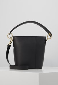 Zign - LEATHER - Handbag - black - 0