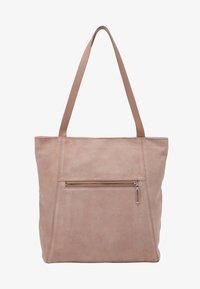 Zign - LEATHER - Shoppingveske - rose - 4