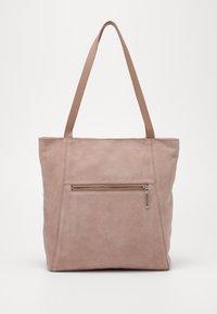 Zign - LEATHER - Shoppingveske - rose - 0