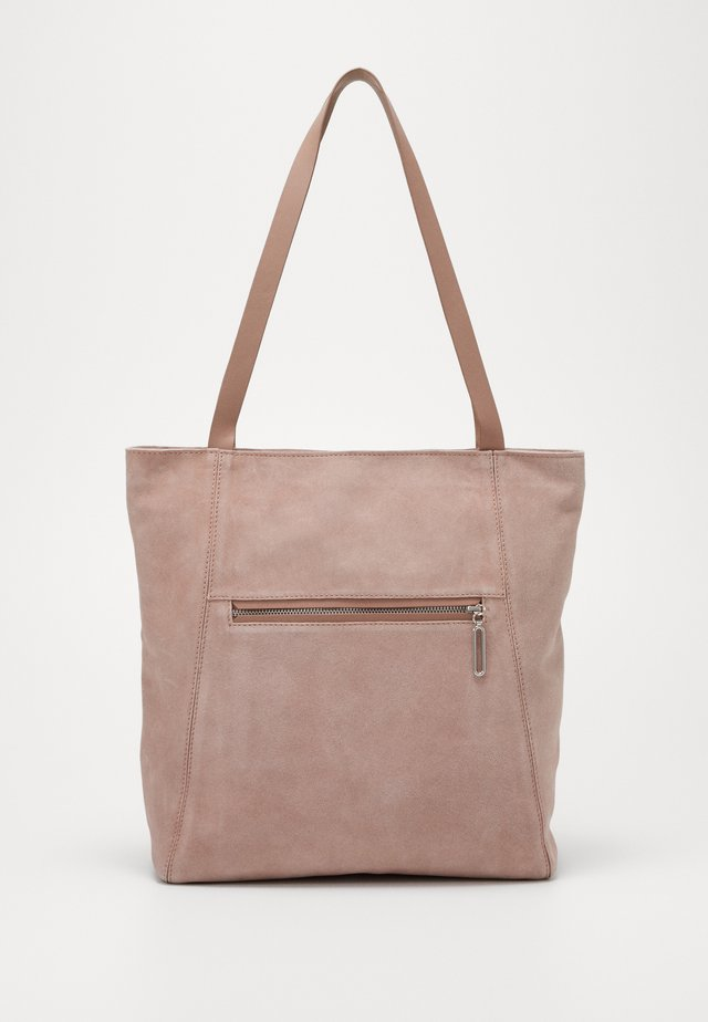 LEATHER - Tote bag - rose