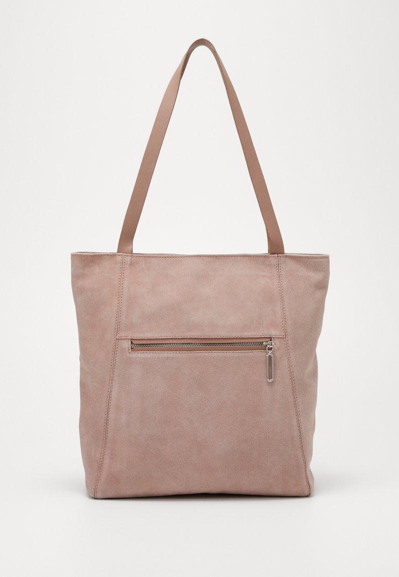 Zign - LEATHER - Shoppingveske - rose