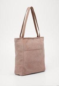 Zign - LEATHER - Shoppingveske - rose - 2