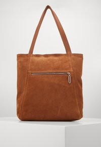 Zign - LEATHER - Shopping bag - cognac - 0