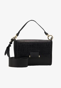 Zign - LEATHER  - Handbag - black - 1