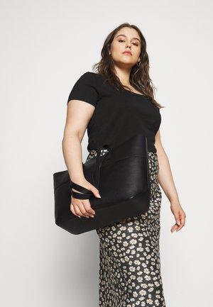 LEATHER - Tote bag - black