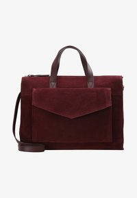 Zign - LEATHER - Sac à main - burgundy - 5