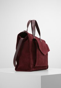 Zign - LEATHER - Sac à main - burgundy - 3