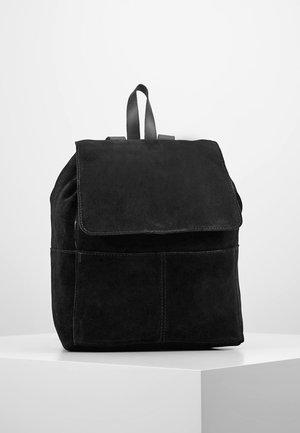 LEATHER - Rucksack - black
