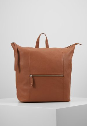 LEATHER - Reppu - cognac