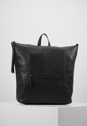 LEATHER - Ryggsekk - black