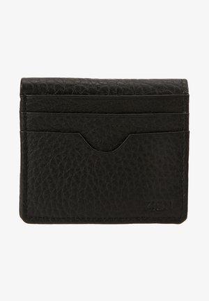 LEATHER - Geldbörse - black