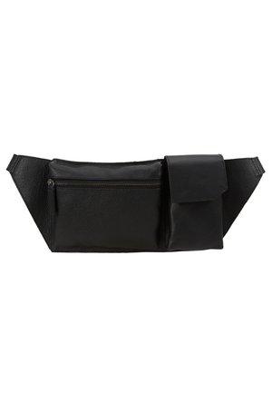 LEATHER - Bæltetasker - black
