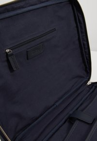Zign - LEATHER - Taška na laptop -  blue/dark ocean - 4