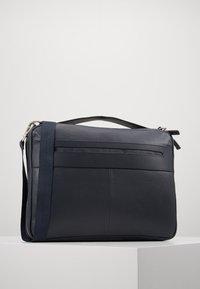 Zign - LEATHER - Taška na laptop -  blue/dark ocean - 0