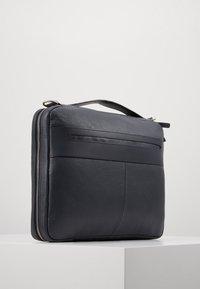 Zign - LEATHER - Taška na laptop -  blue/dark ocean - 3