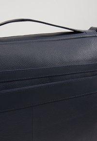 Zign - LEATHER - Taška na laptop -  blue/dark ocean - 6