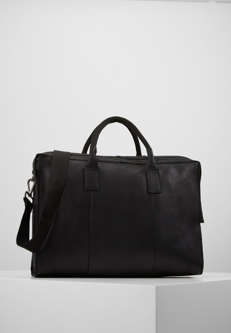 Zign - LEATHER - Briefcase - black