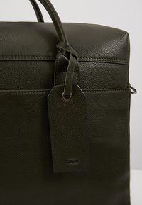 Zign - LEATHER - Aktovka - dark green - 6