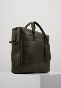 Zign - LEATHER - Aktovka - dark green - 3