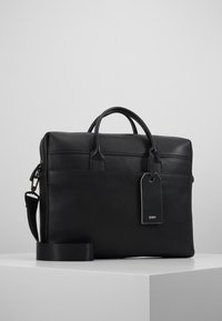 Zign - LEATHER - Briefcase - black - 0