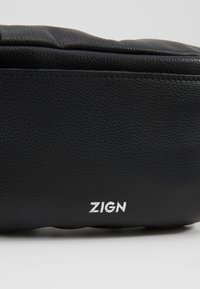 Zign - ZENO-LEATHER - Ledvinka - black - 6