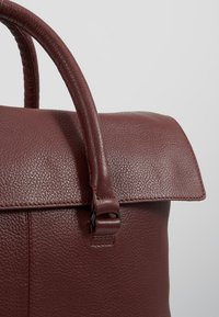 Zign - LEATHER UNISEX - Portfölj - bordeaux - 6