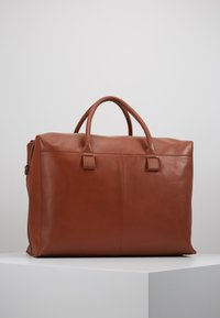 Zign - UNISEX LEATHER - Weekendbag - dark brown