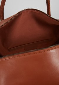 Zign - UNISEX LEATHER - Weekendbag - dark brown - 4