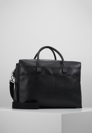 UNISEX LEATHER - Sac week-end - black