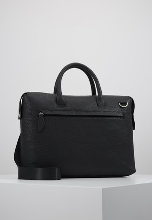 LEATHER - Borsa porta PC - black
