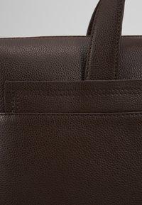 Zign - LEATHER - Briefcase - dark brown - 6