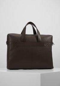 Zign - LEATHER - Briefcase - dark brown - 2