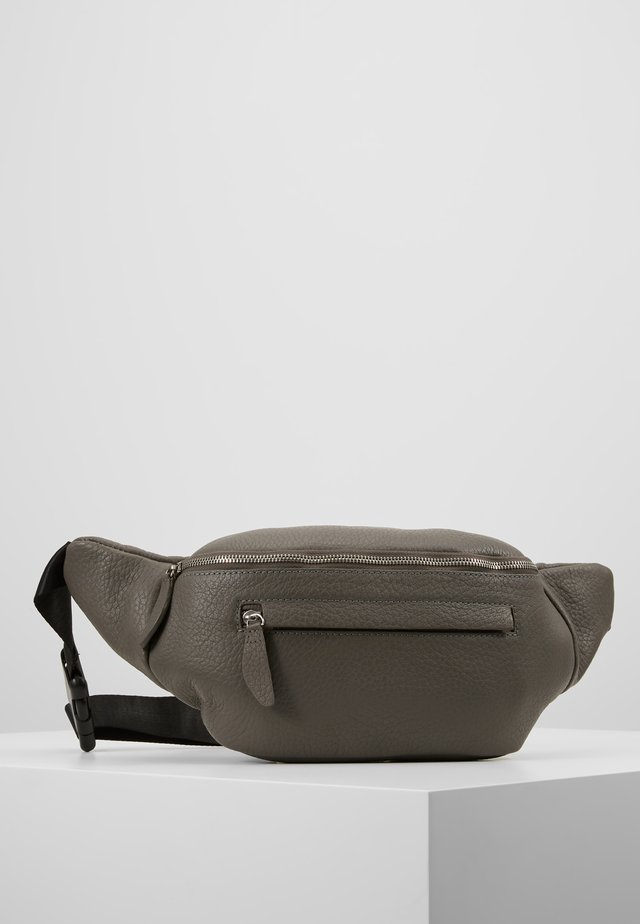 PAXTON-LEATHER - Bum bag - grey