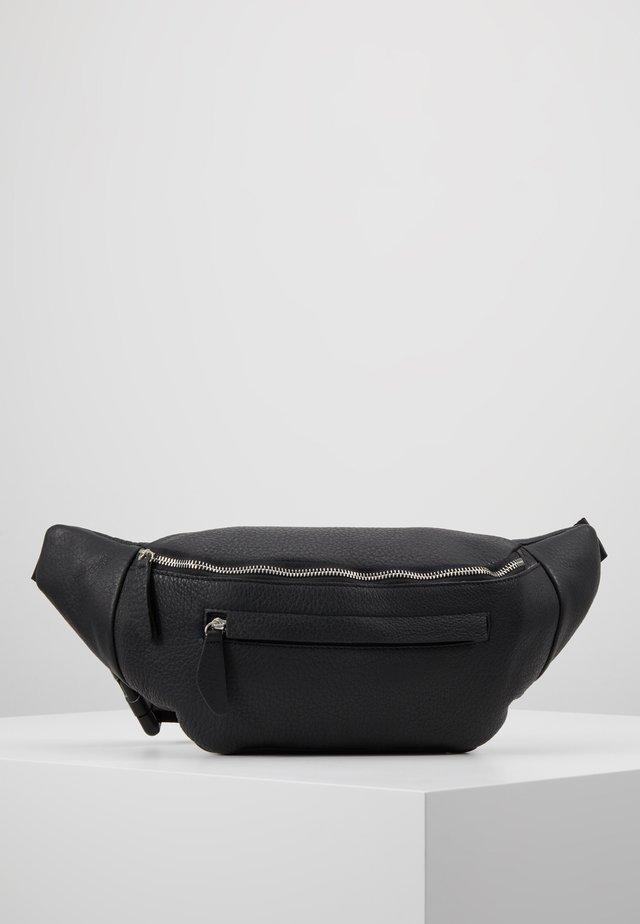 PAXTON-LEATHER - Bum bag - black