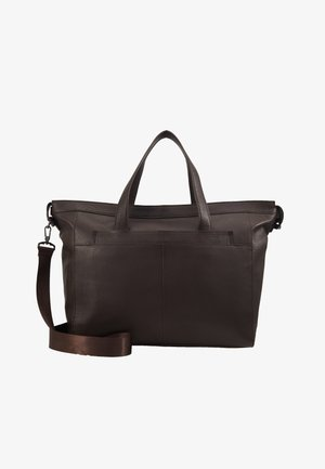 UNISEX LEATHER - Torba weekendowa -  dark brown