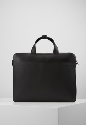 LEATHER - Taška na laptop - black