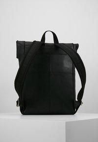 Zign - LEATHER - Rucksack - black - 2