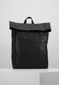 Zign - LEATHER - Rucksack - black - 0