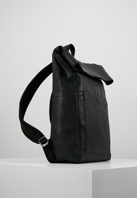 Zign - LEATHER - Rucksack - black - 3