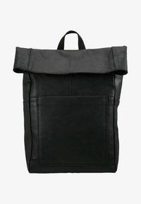 Zign - LEATHER - Rucksack - black - 5