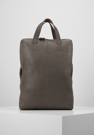 RONALS LEA- LEATHER - Rucksack - anthracite