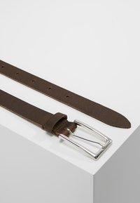 Zign - Belt business - dark brown - 2